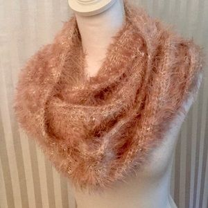 Collectioneighteen Tea Rose infinity scarf
